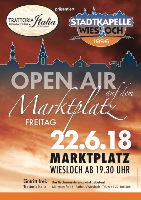 Plakat Open Air Konzert
